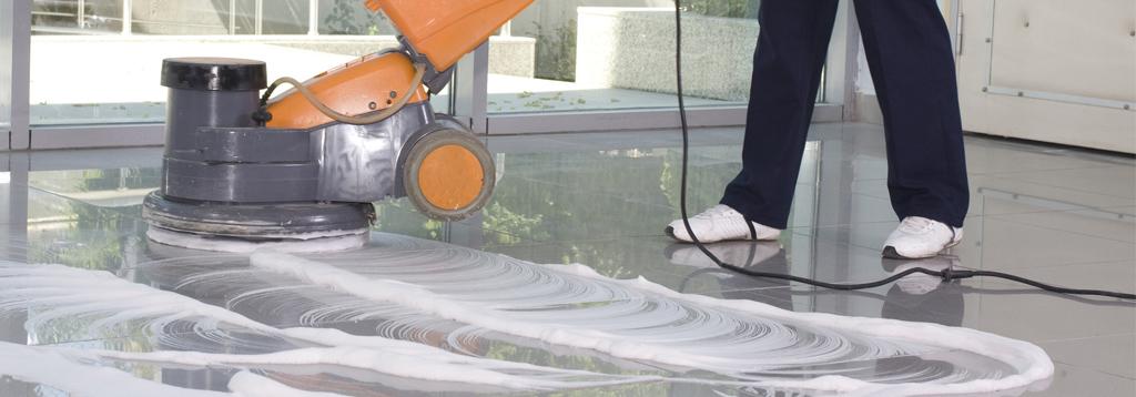 Gebäudereinigung-Boden
